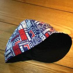 Reversible Welding Caps Biker Cap, Skull Cap You Choose Fabric